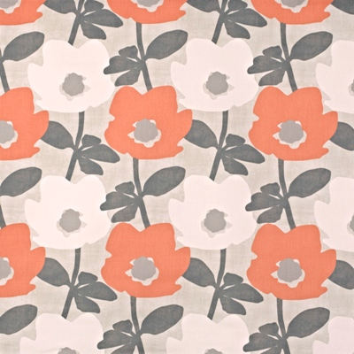 Bermondsey Mango 100% Cotton 137cm wide | 32cm Curtaining