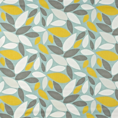 Pimlico Duck Egg 100% Cotton 137cm wide | 32cm Curtaining