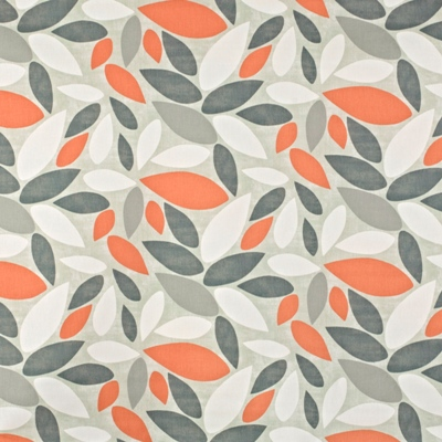 Pimlico Mango  100% Cotton  137cm wide | 32cm  Curtaining