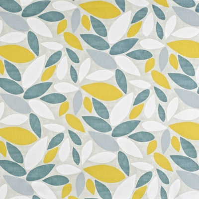 Pimlico Saffron 100% Cotton 137cm wide | 32cm Curtaining