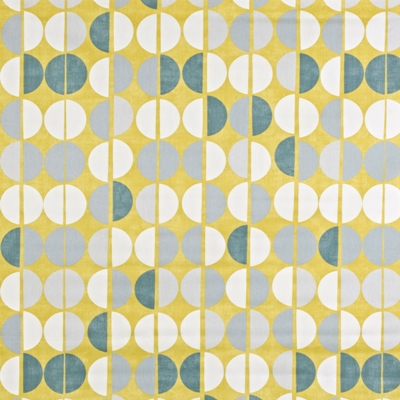 Shoreditch Saffron 100% Cotton 137cm wide | 64cm Curtaining