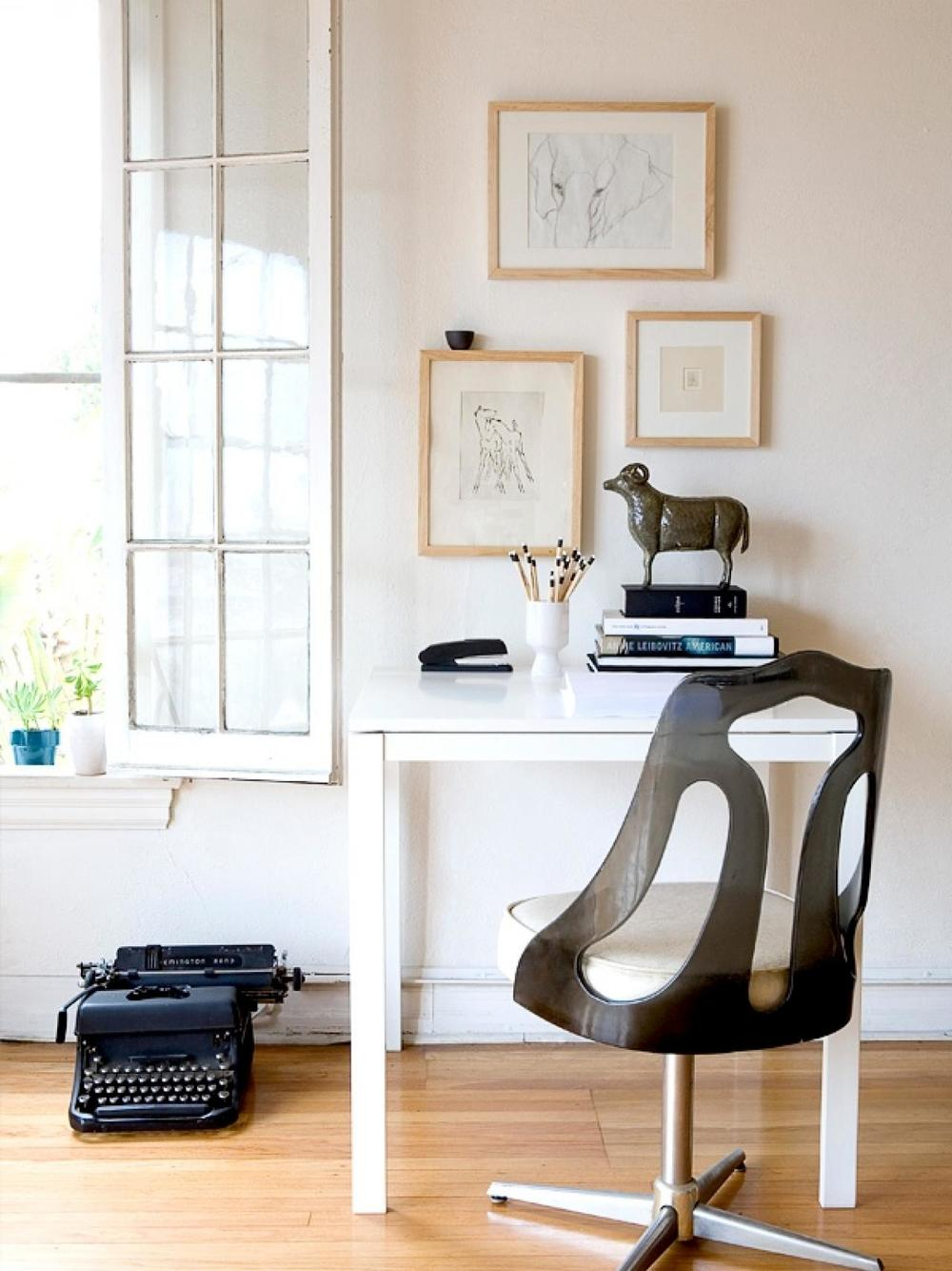 7 Ideas For A Small Home Office Stuart Graham Fabrics