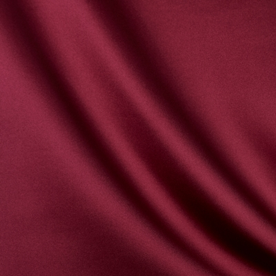 Royalty Claret 100% Polyester 137cm wide | Plain Dual Purpose 20,000 Rubs