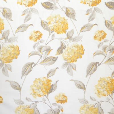 FLORA SUNSHINE 230 X 218cm - standard tape - lined 230 X 250cm - standard tape - lined 100% Cotton