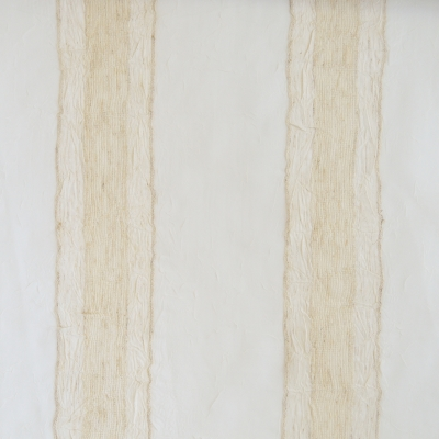 Samba Champagne 93% Polyester/7% Linen 290cm drop | Vertical Stripe Curtaining
