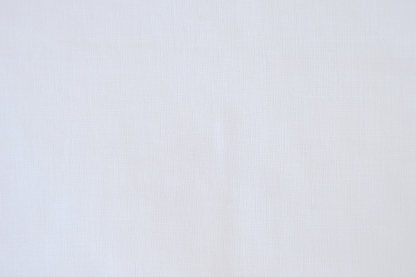 Question White  100% Polyester  280cm drop | Plain