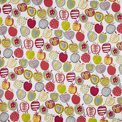 Apples Berry  100% Cotton  140cm wide | 64cm  Curtaining & Accessories