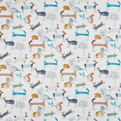 Oh My Deer Colonial  100% Cotton   140cm wide | 64cm  Curtaining & Accessories