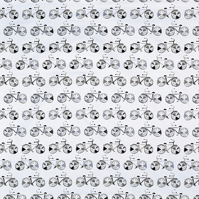 On Your Bike Graphite  100% Cotton  140cm wide | 64cm   Curtaining & Accessories