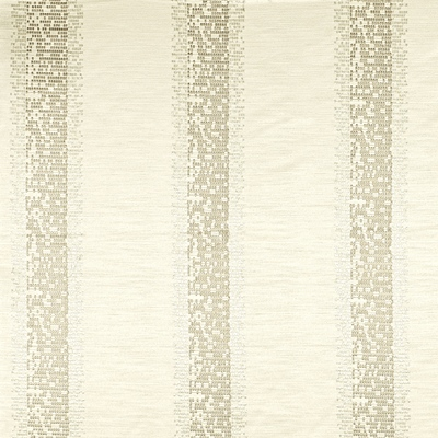 Pride Ivory 100% Polyester Approx. 140cm | 16cm Curtaining/ Embroidered