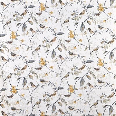 Birdsong Shadow  100% Cotton  Approx. 137cm | 64cm  Curtaining