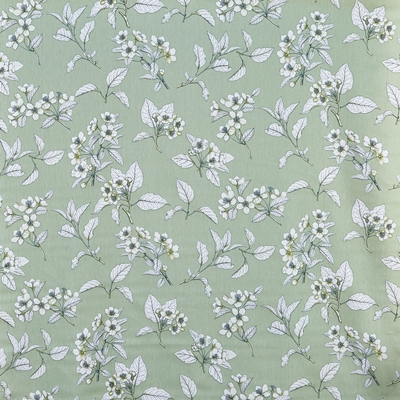 Cherry Blossom Kale  100% Cotton  Approx. 137cm | 64cm  Curtaining