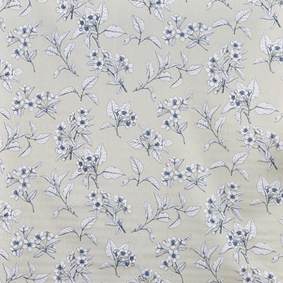 Cherry Blossom Robins Egg  100% Cotton  Approx. 137cm | 64cm  Curtaining