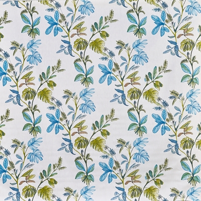 Kew Larkspur  100% Cotton  Approx. 137cm | 64cm  Curtaining