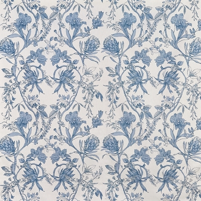 Linley Larkspur  100% Cotton  Approx. 137cm | 64cm  Curtaining