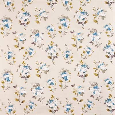 Merewood Bluebell  100% Cotton  Approx. 137cm | 63.5cm  Curtaining