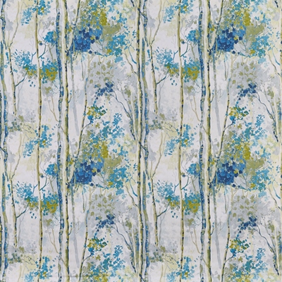 Silver Birch Larkspur  100% Cotton  Approx. 137cm | 64cm  Curtaining