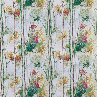 Silver Birch Orchid  100% Cotton  Approx. 137cm | 64cm  Curtaining