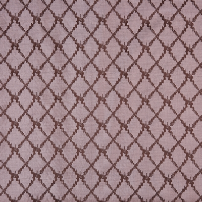 San Rocco Rose Quartz  55% Viscose/ 45% Polyester  142cm (useable 139cm) | 16cm  Curtaining & Accessories  Embroidered