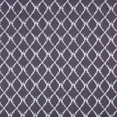 San Rocco Granite  55% Viscose/ 45% Polyester  142cm (useable 139cm) | 16cm  Curtaining & Accessories  Embroidered
