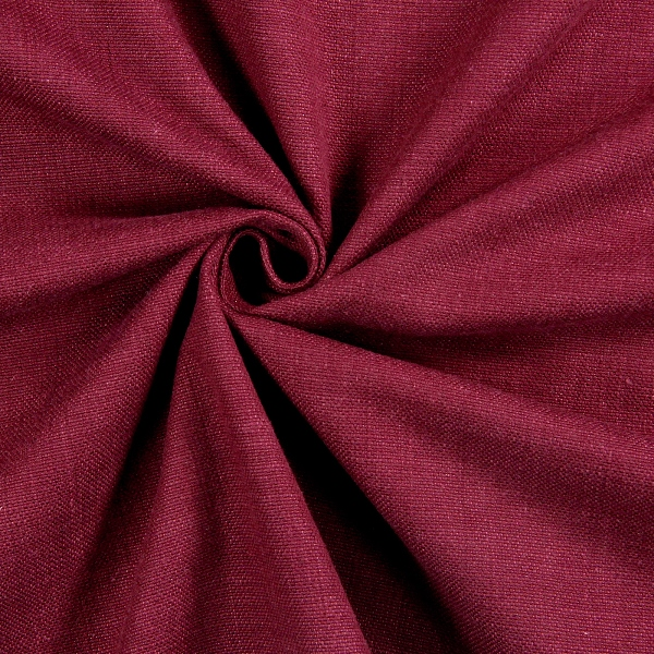 Galway Bordeaux  100% Cotton  140cm | Plain  Dual Purpose 20,000 Rubs