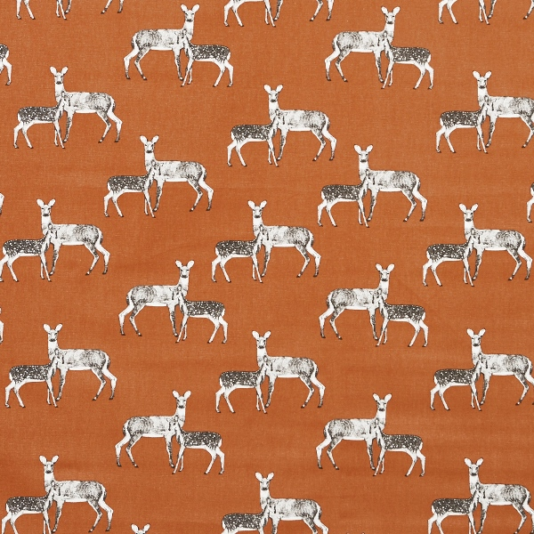 Deer Cinder  100% Cotton  137cm | 63cm  Curtaining