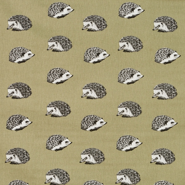 Hedgehog Moss  100% Cotton  137cm | 32cm  Curtaining