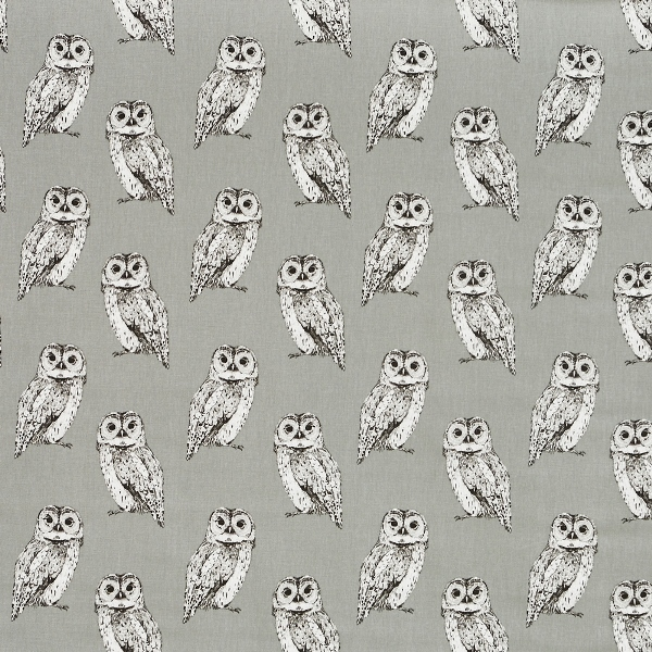 Owl Flint  100% Cotton  137cm | 21.5cm  Curtaining