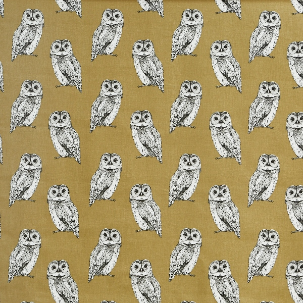Owl Tawny  100% Cotton  137cm | 21.5cm  Curtaining