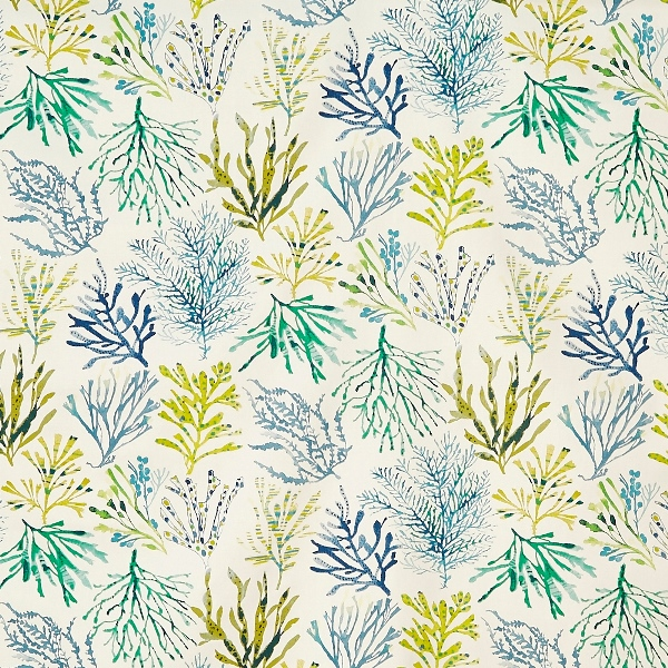 Coral Seaweed  100% Cotton  137cm | 64cm  Curtaining