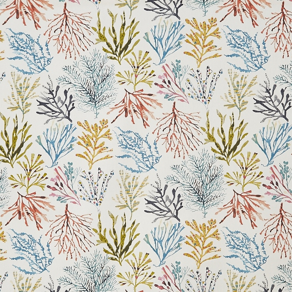 Coral Tropical  100% Cotton  137cm | 64cm  Curtaining