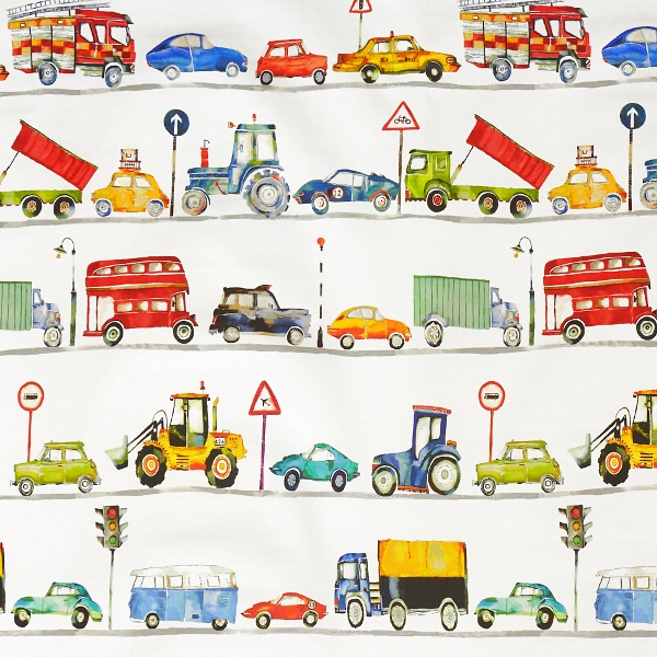 On the Road Paintbox  100% Cotton  137cm | 98cm  Curtaining