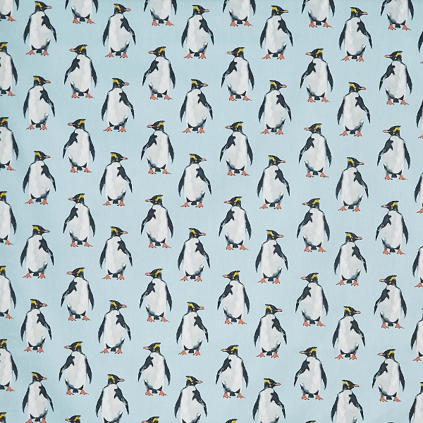 Penguin Ocean  100% Cotton  137cm | 16cm  Curtaining