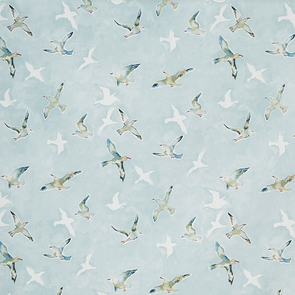 Seagulls Sky  100% Cotton  137cm | 64cm  Curtaining