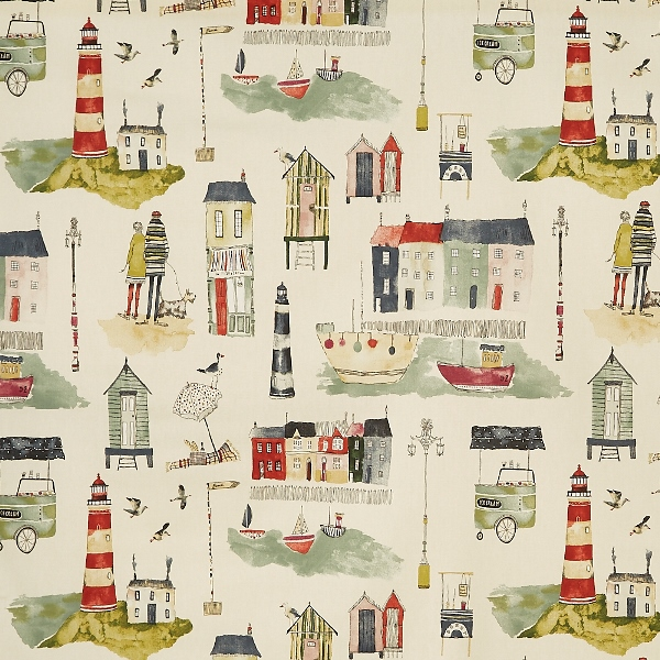 Seaside Stone  100% Cotton  137cm | 64cm  Curtaining