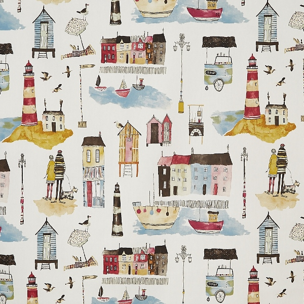 Seaside Vintage  100% Cotton  137cm | 64cm  Curtaining