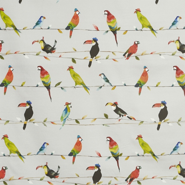 Toucan Talk Tropical  100% Cotton  137cm | 62cm  Curtaining
