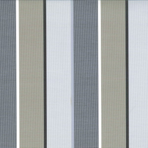 Patio Fog  73% Polyester/ 27% Acrylic  Approx. 140cm | Vertical Stripe  Indoor/ Outdoor 40,000 Rubs