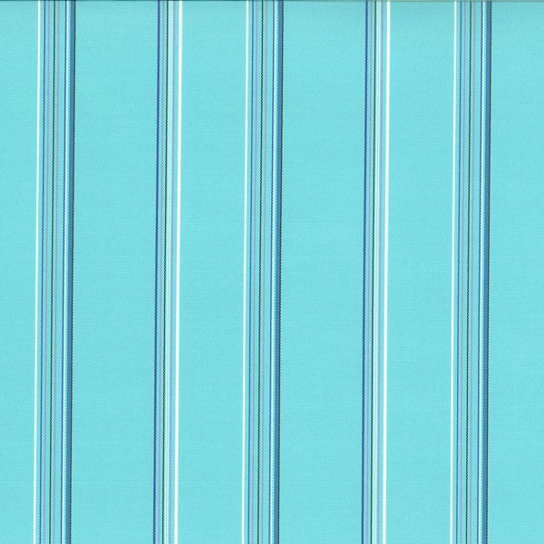 Terrace Lagoon  73% Polyester/ 27% Acrylic  Approx. 140cm | Vertical Stripe  Indoor/ Outdoor 40,000 Rubs
