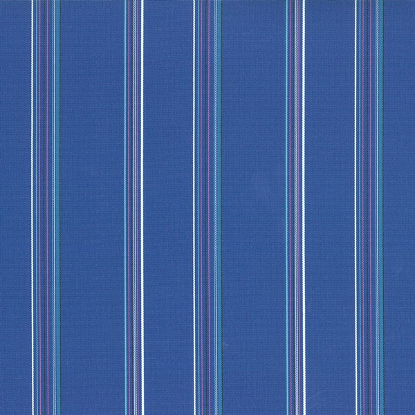 Terrace Ultramarine  73% Polyester/ 27% Acrylic  Approx. 140cm | Vertical Stripe  Indoor/ Outdoor 40,000 Rubs