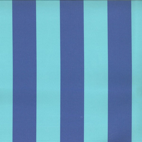 Veranda Aqua  73% Polyester/ 27% Acrylic  Approx. 140cm | Vertical Stripe  Indoor/ Outdoor 40,000 Rubs