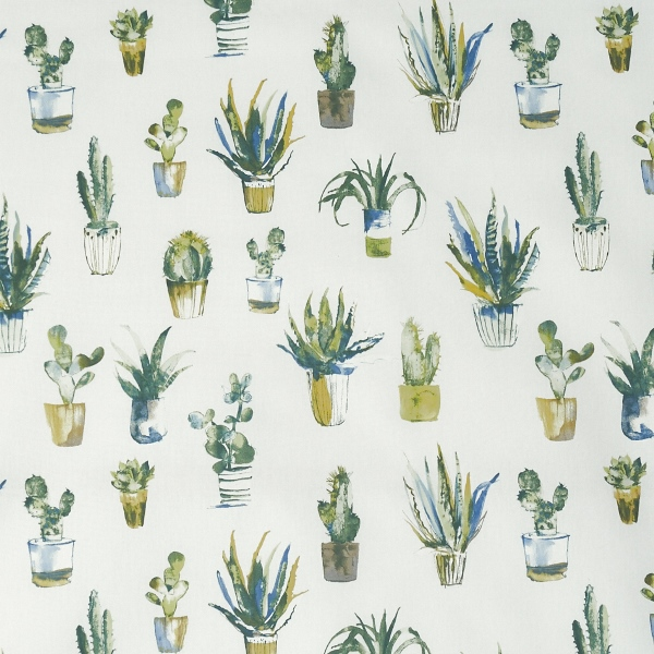 Cactus Fennel  100% Cotton  Approx. 140cm | 64cm  Curtaining