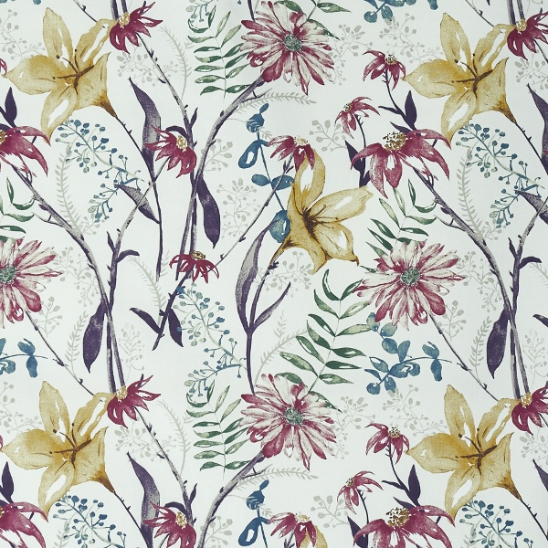 Roof Garden Jewel  100% Cotton  Approx. 140cm | 64cm  Curtaining