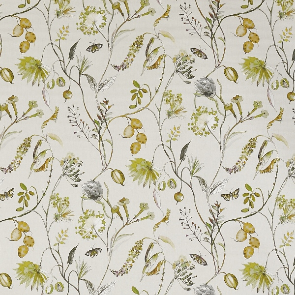 Grove Fennel  100% Cotton  Approx. 140cm | 64cm  Curtaining