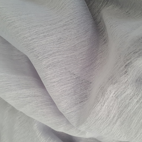 Flurry Silver  100% Polyester  Approx. 290cm drop |  Plain  Curtaining