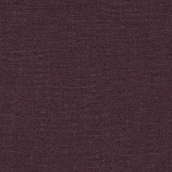 Polo Aubergine  100% Cotton  Approx. 138cm |  Plain  Dual Purpose 25,000 Rubs  Flame Retardant