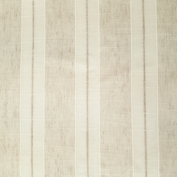 Parody Linen  90% Polyester/10% Linen  Approx. 280cm drop |  Vertical Stripe  Curtaining