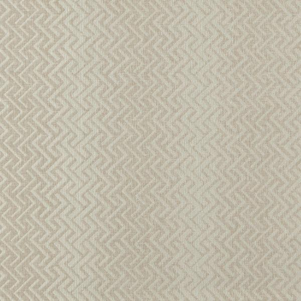 Glints Flax  47% Polyester/ 32% Cotton/ 21% Viscose  Approx. 138cm | 3.5cm  Curtaining & Accessories  Flame Retardant