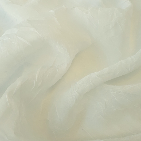 Crushed Voile Champagne  100% Polyester  Approx. 300cm drop |  Plain  Curtaining