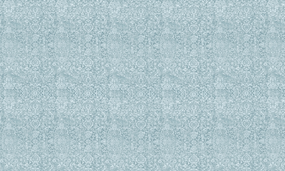 Arabesque Aqua  100% Cotton  Approx. 280cm Drop (Railroaded)   V: 65cm H:70cm  Dual Purpose 20,000 Rubs